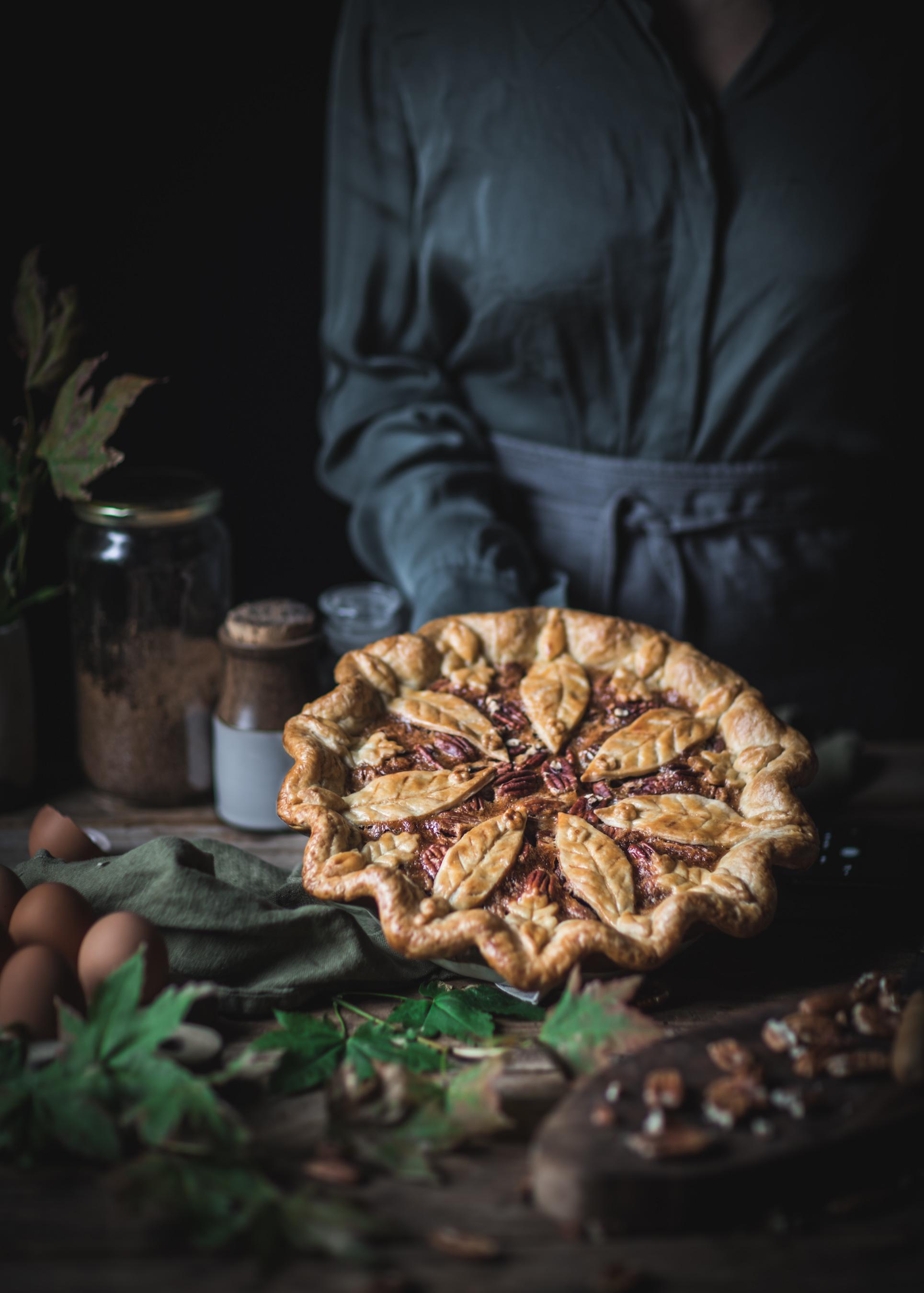 Holding Pie