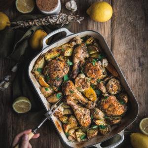Lemon Potato Chicken
