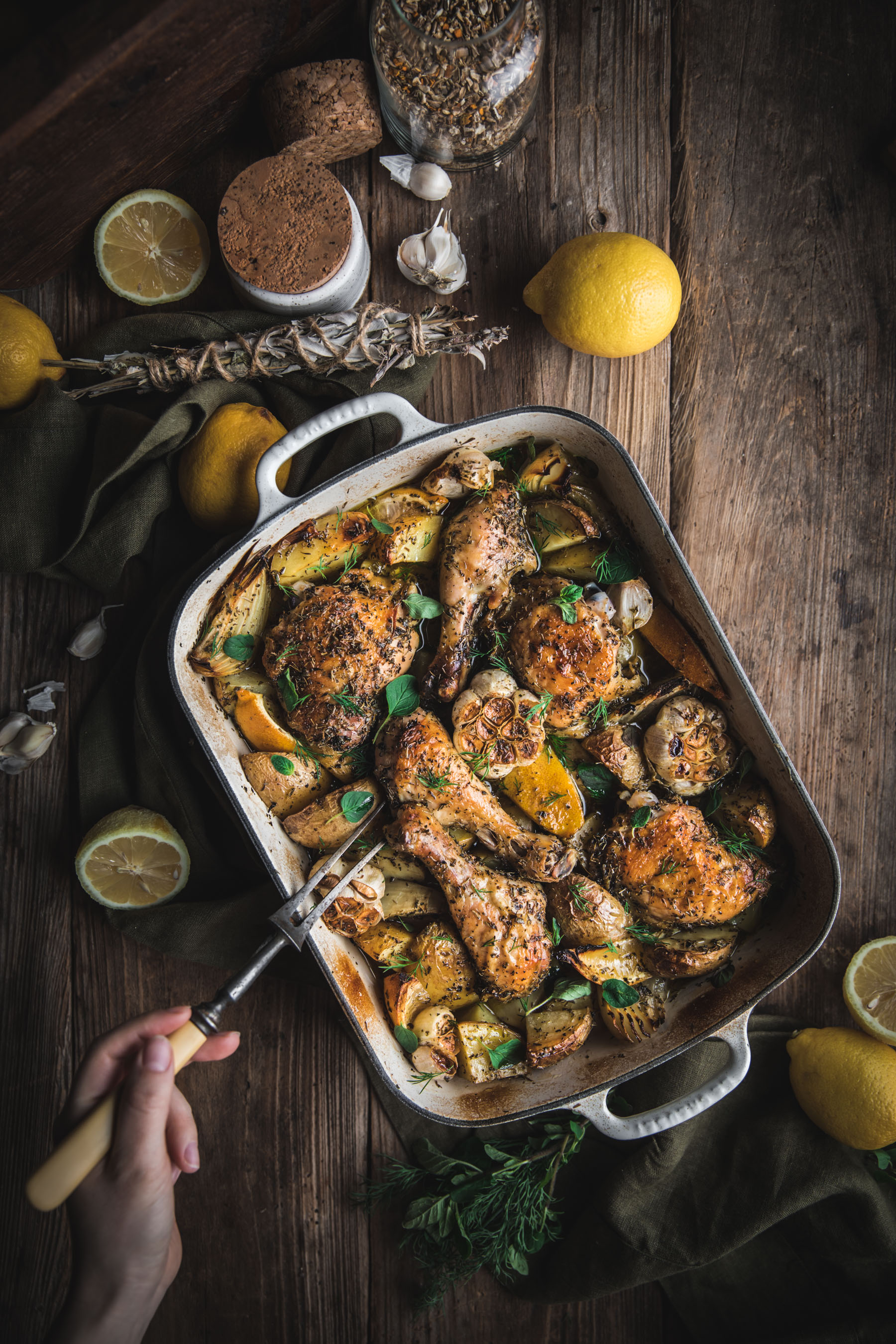 Lemon Potato Chicken