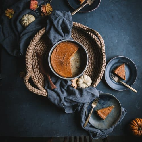 Spiced Baked Pumpkin