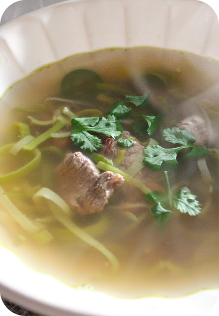 Beef and Pinto Bean Pho