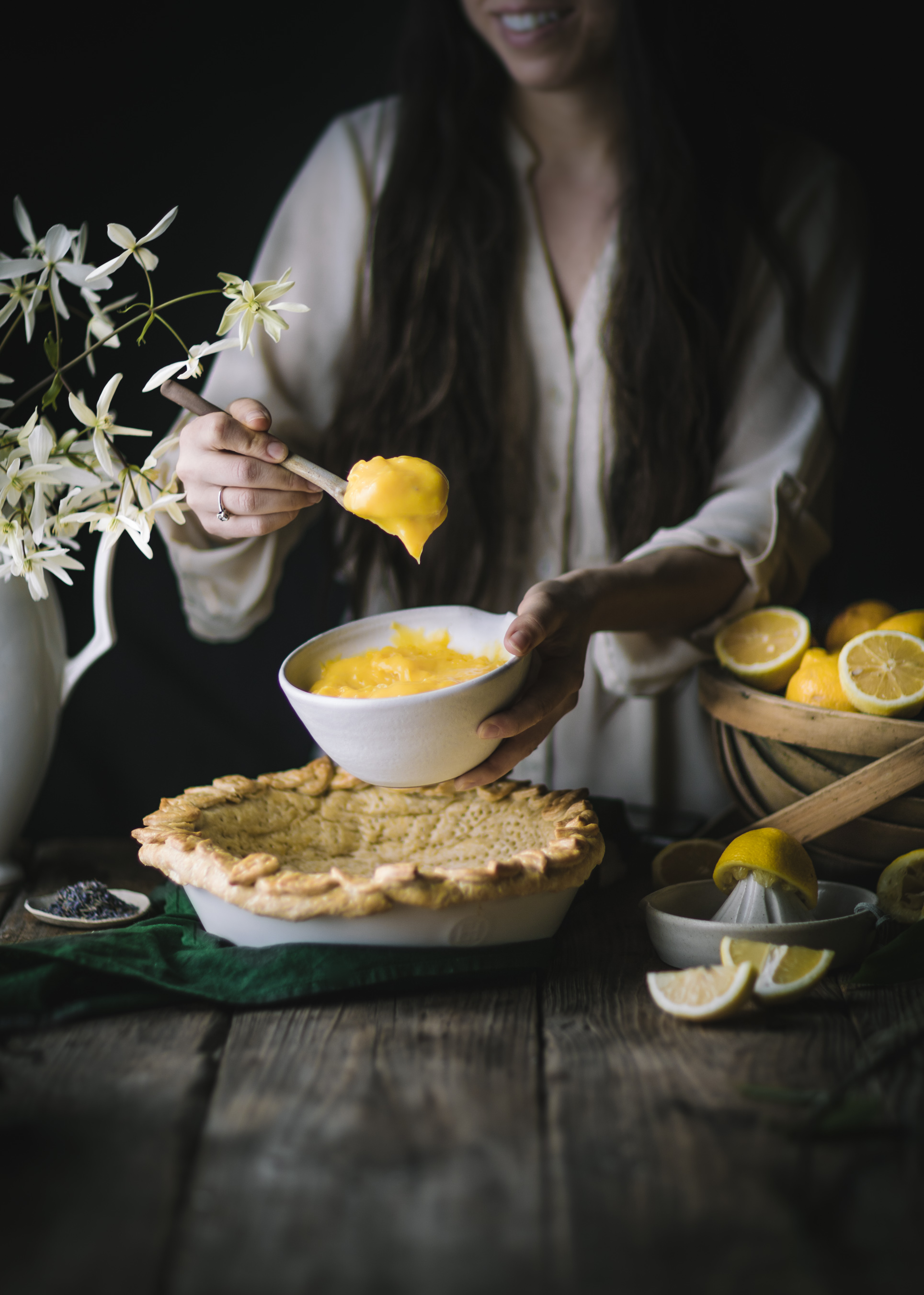Lemon Curd Filling