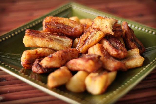 Fried Burro Plantains