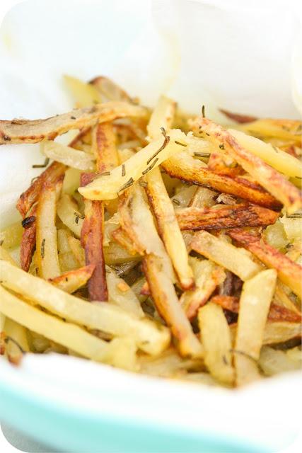 Garlic Rosemary French Fries