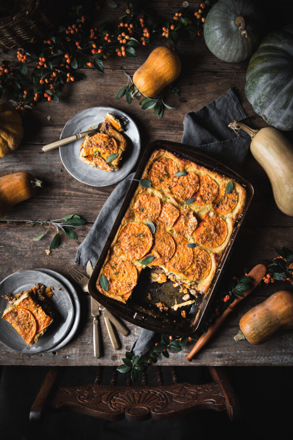 Mousaka with Butternut Squash