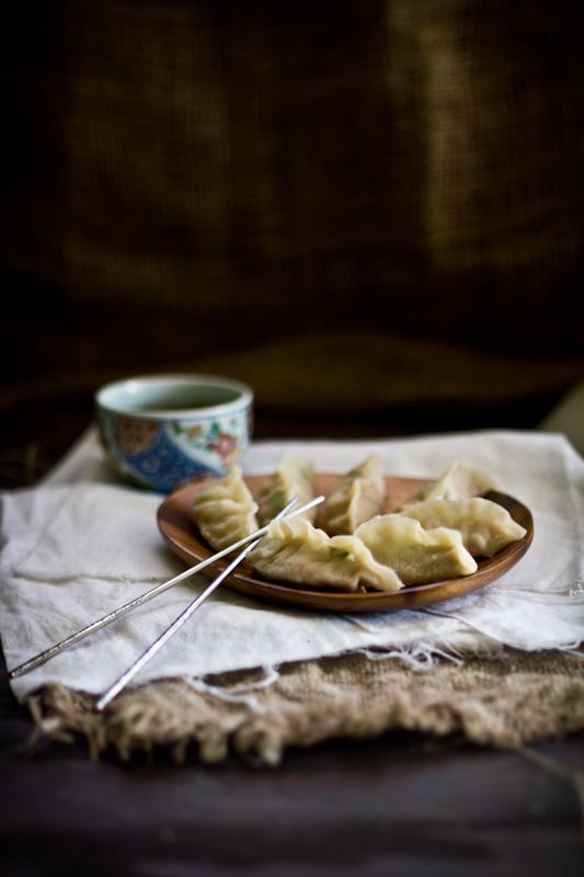 Steamed Pork & Squash Dumplings, Plus a Tea Giveaway!