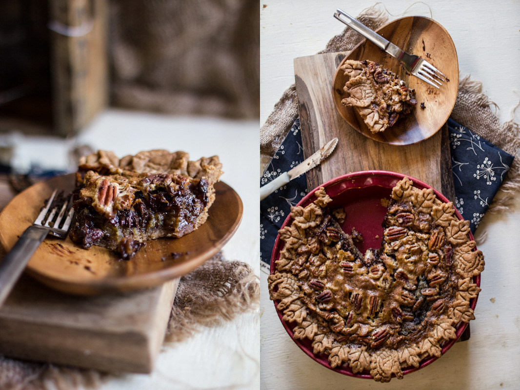 Chocolate Pecan Pie & A Giveaway