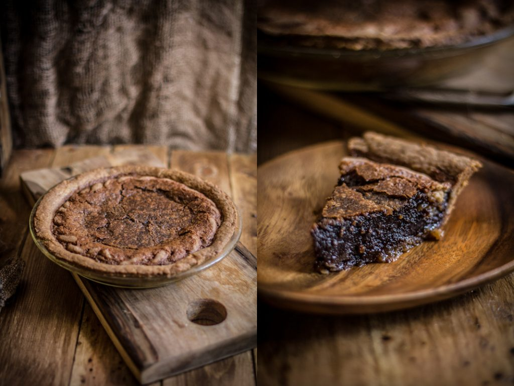 Chocolate Chess Pie & A Giveaway - Adventures in Cooking