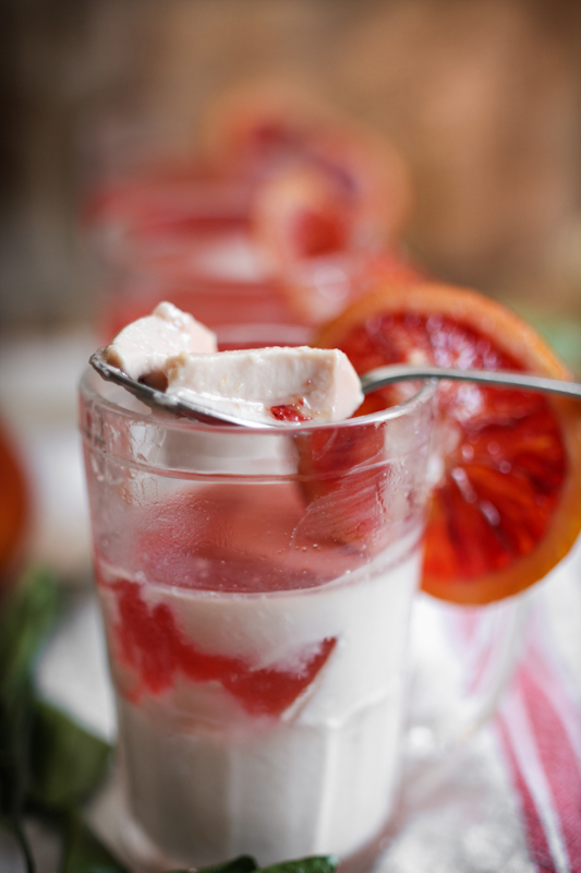Blood Orange Panna Cotta - Adventures in Cooking
