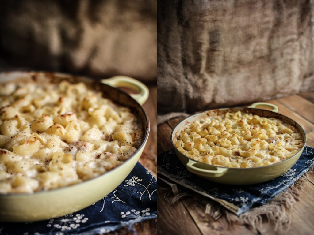 Apple Sauce Mac And Cheese With Apple Sausage Adventures In Cooking
