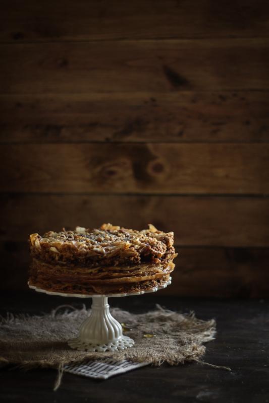 Baklava Cake Adventures In Cooking