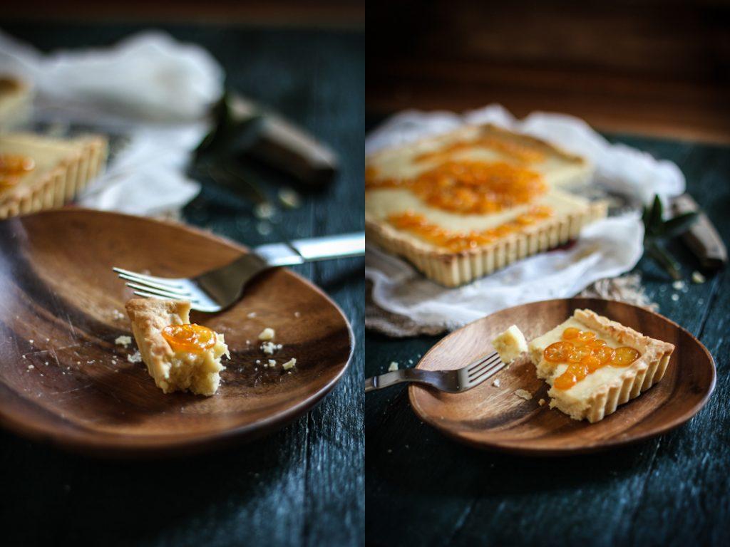 Candied Kumquat & Cream Cheese Tart — Adventures in Cooking