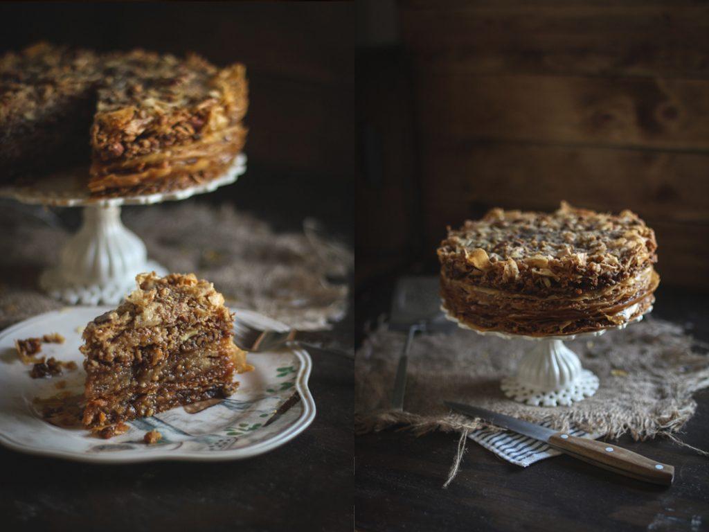 Recipe for baklava cake