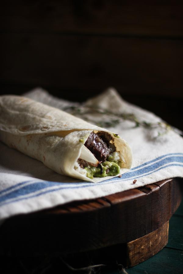 Lamb Burritos with Lemon Oregano Rice & Homemade Tzitziki