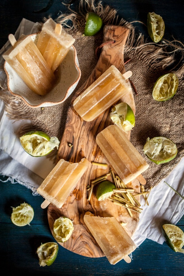 Boozy Lime, Honey, & Lemongrass Popsicles: And a Book Club