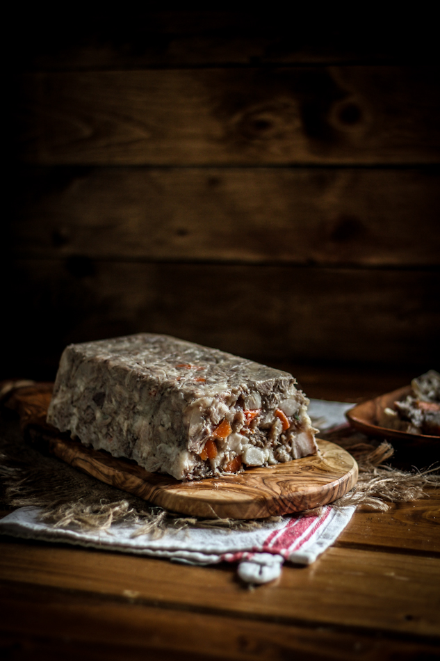 Head Cheese With Rosemary & Carrots