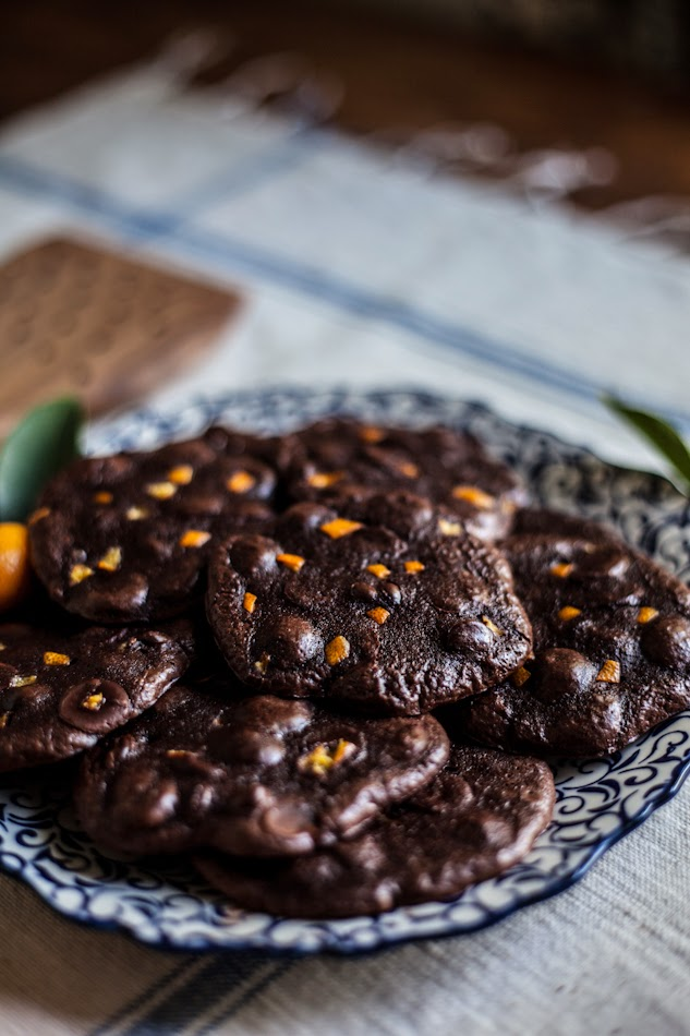 Flourless Chocolate Citrus Cookies & A Giveaway!