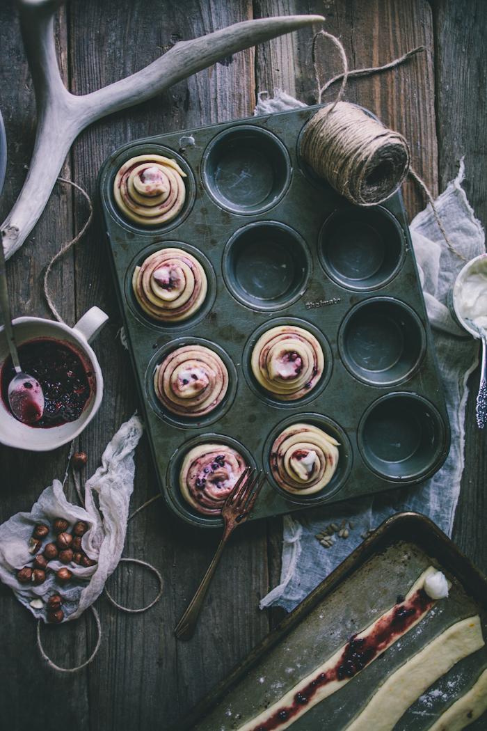 Blackberry Twists | Adventures in Cooking