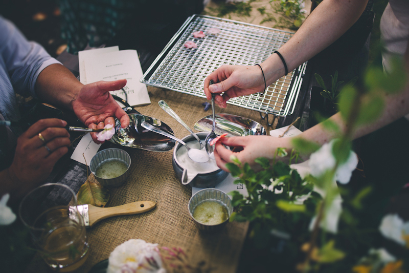 Edible Flower Workshop | Eva Kosmas Flores