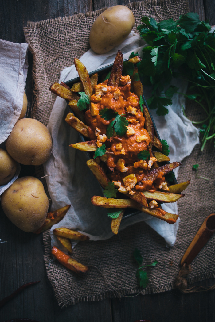 Oven Baked Curry Fries With A Tikka Masala Sauce + A Giveaway