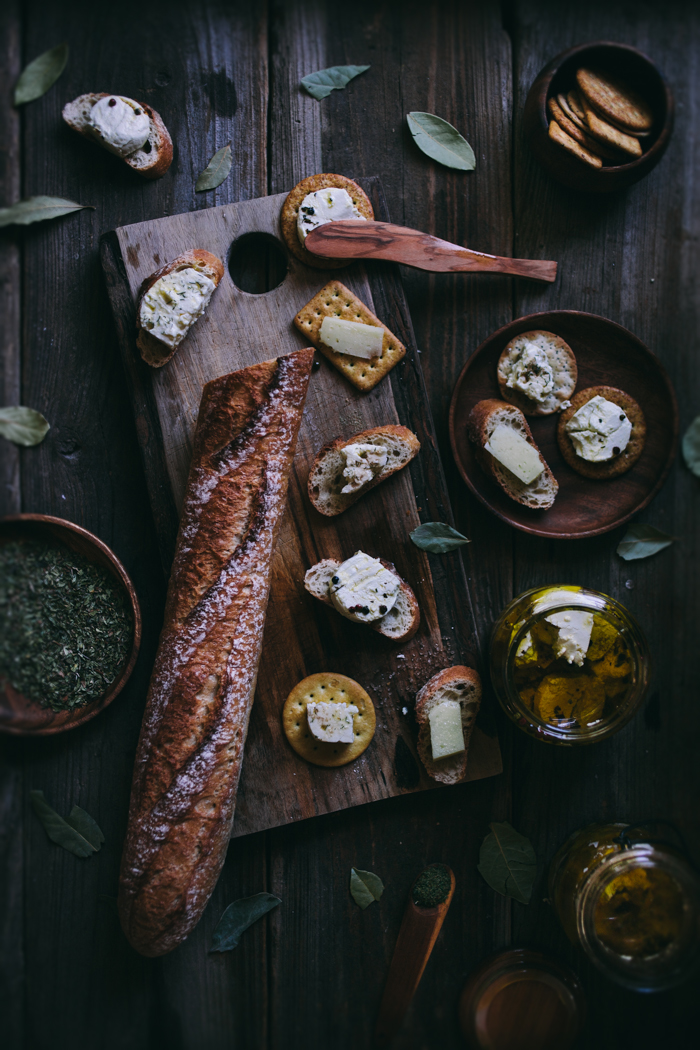 Herb-Marinated Cheeses