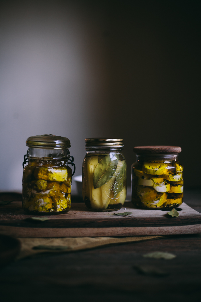 Herb Marinated Cheeses | Adventures in Cooking