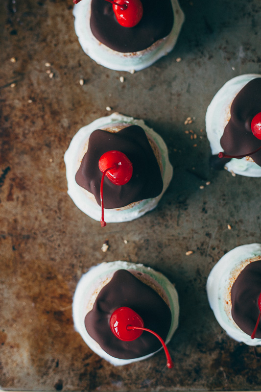 Upside Down Mini Gelato Cakes | A Guest Post from My Name Is Yeh
