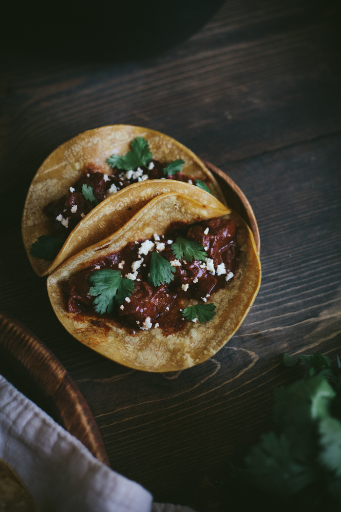 Mole Tacos | Adventures in Cooking