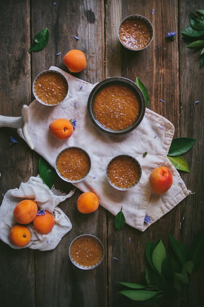 Salted Caramel & Apricot Pots de Creme
