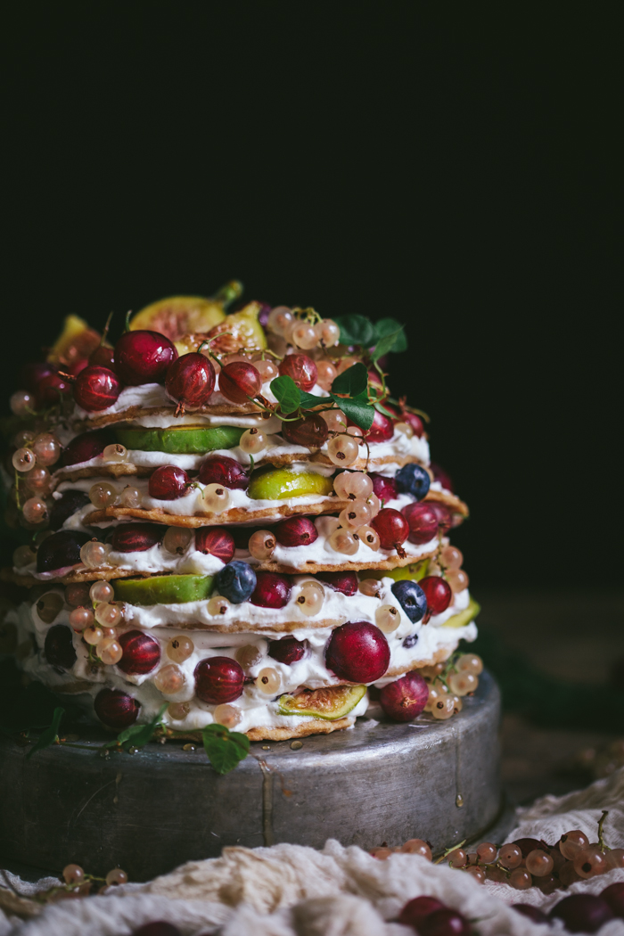 Food Styling & Photography Workshop in Upstate New York With Reclaiming Provincial + Gooseberry Icebox Cake