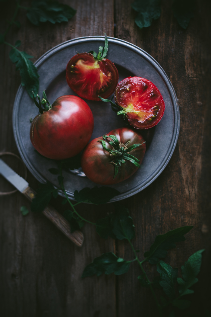 Tasting Guide to Heirloom Tomatoes | Eva Kosmas Flores of Adventures in Cooking