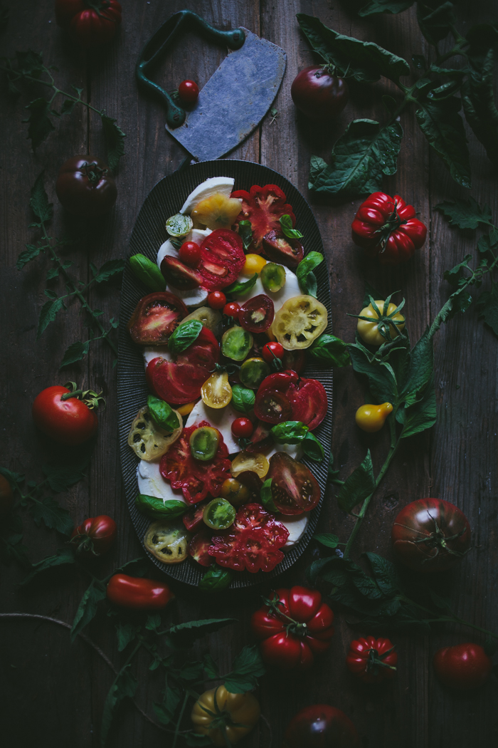 Caprese Salad by Eva Kosmas Flores | Adventures in Cooking