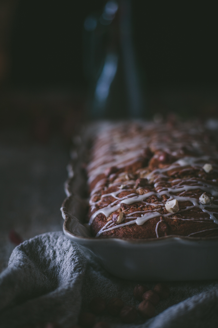 Pumpkin Sheet Cake With Maple Glaze & Toasted Hazelnuts + A Giveaway From Annie Beedy