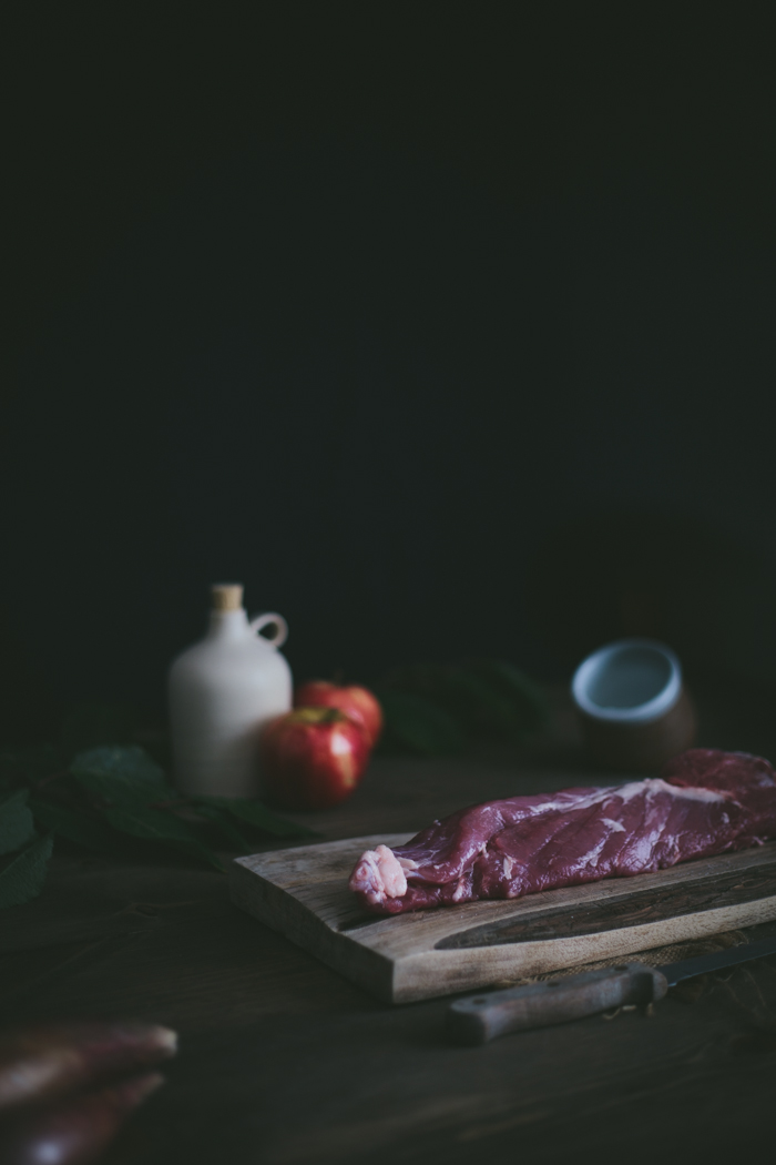 Apple, Rosemary, & Sausage Stuffed Pork Tenderloin by Eva Kosmas Flores | Adventures in Cooking