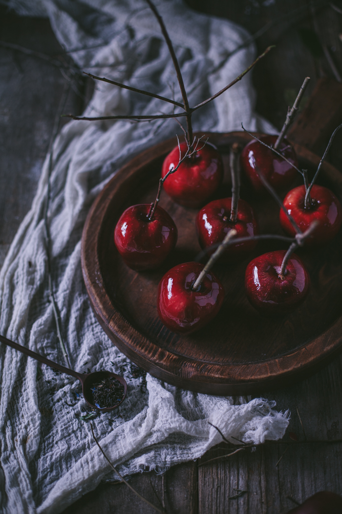 Black Tea Candied Apples by Eva Kosmas Flores | Adventures in Cooking