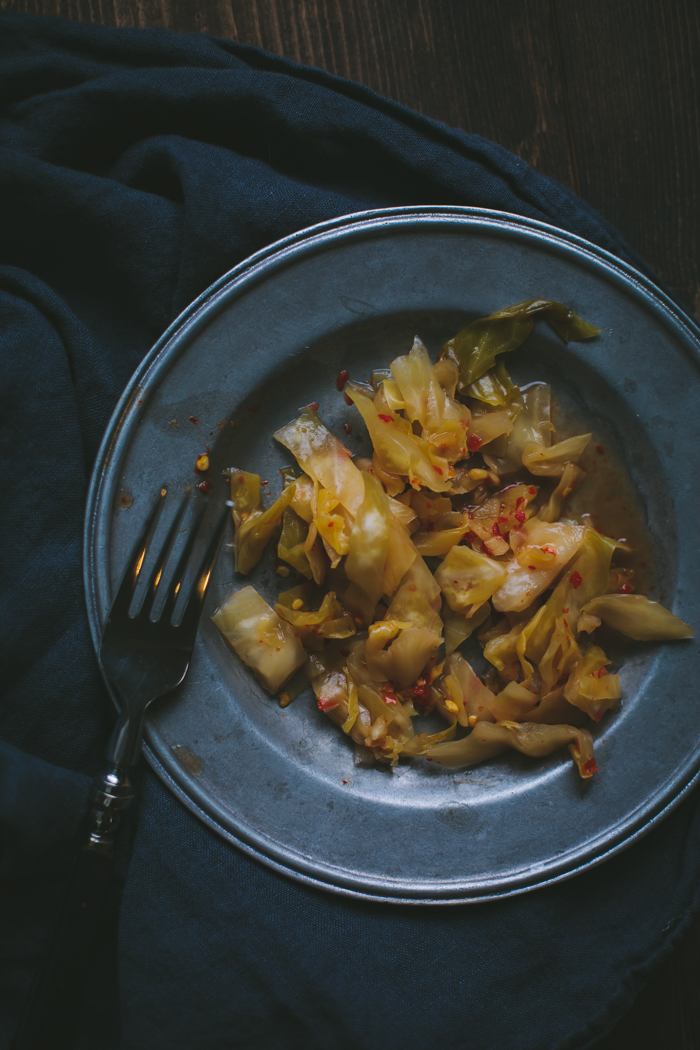 Kimchi Sauerkraut by Eva Kosmas Flores | Adventures in Cooking
