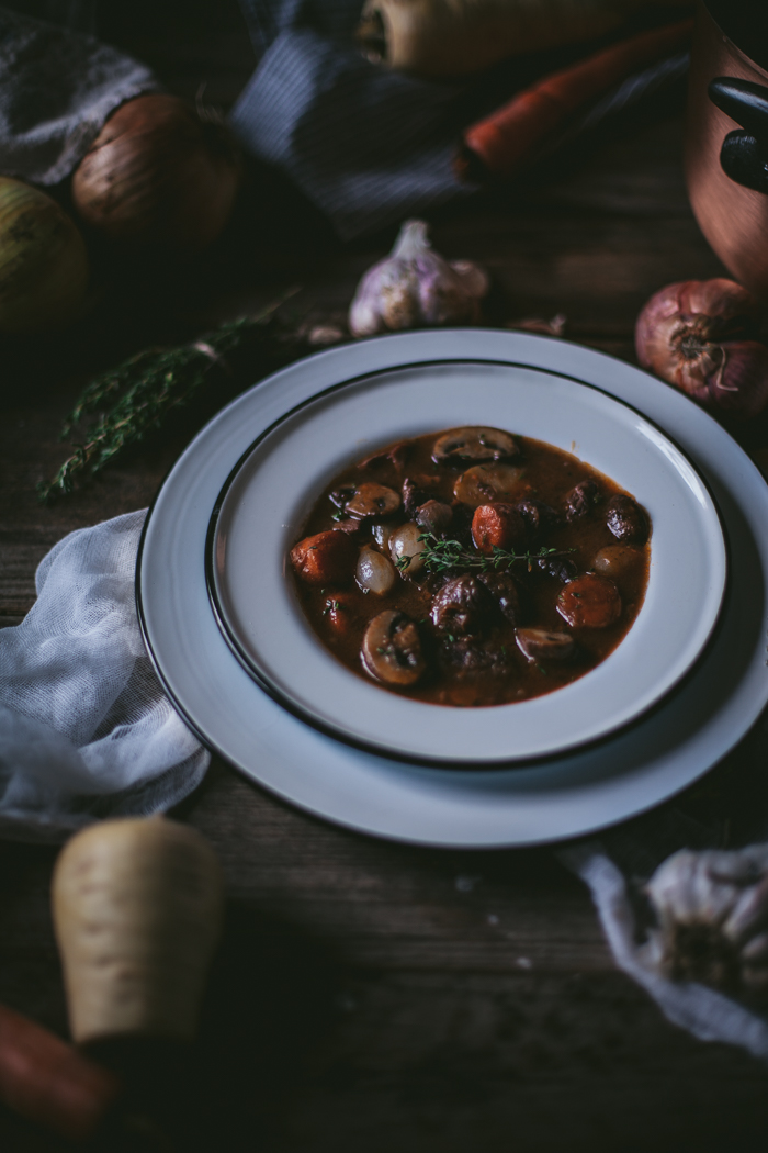 Boeuf Bourguignon + A Falk Copper Giveaway