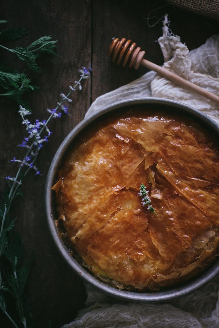 Honeyed Greek Filo Custard + Winter 2015 Online Food Styling & Photography Workshop