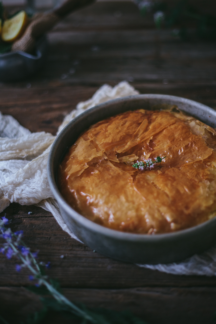 Honeyed Greek Filo Custard + Online Food Styling & Photography Workshop by Eva Kosmas Flores | Adventures in Cooking