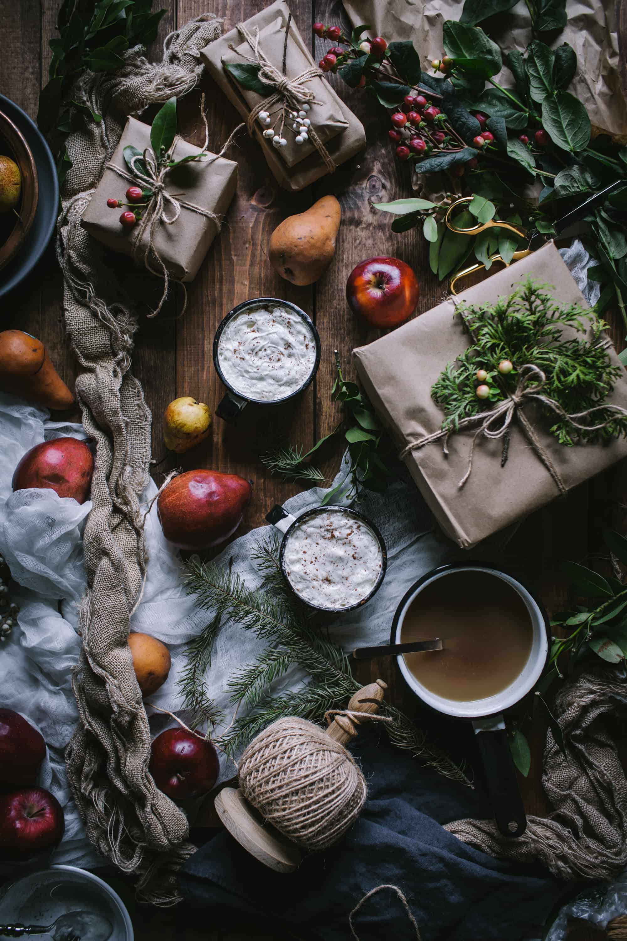 Apple Pear and Brandy Cider by Eva Kosmas Flores of Adventures in Cooking