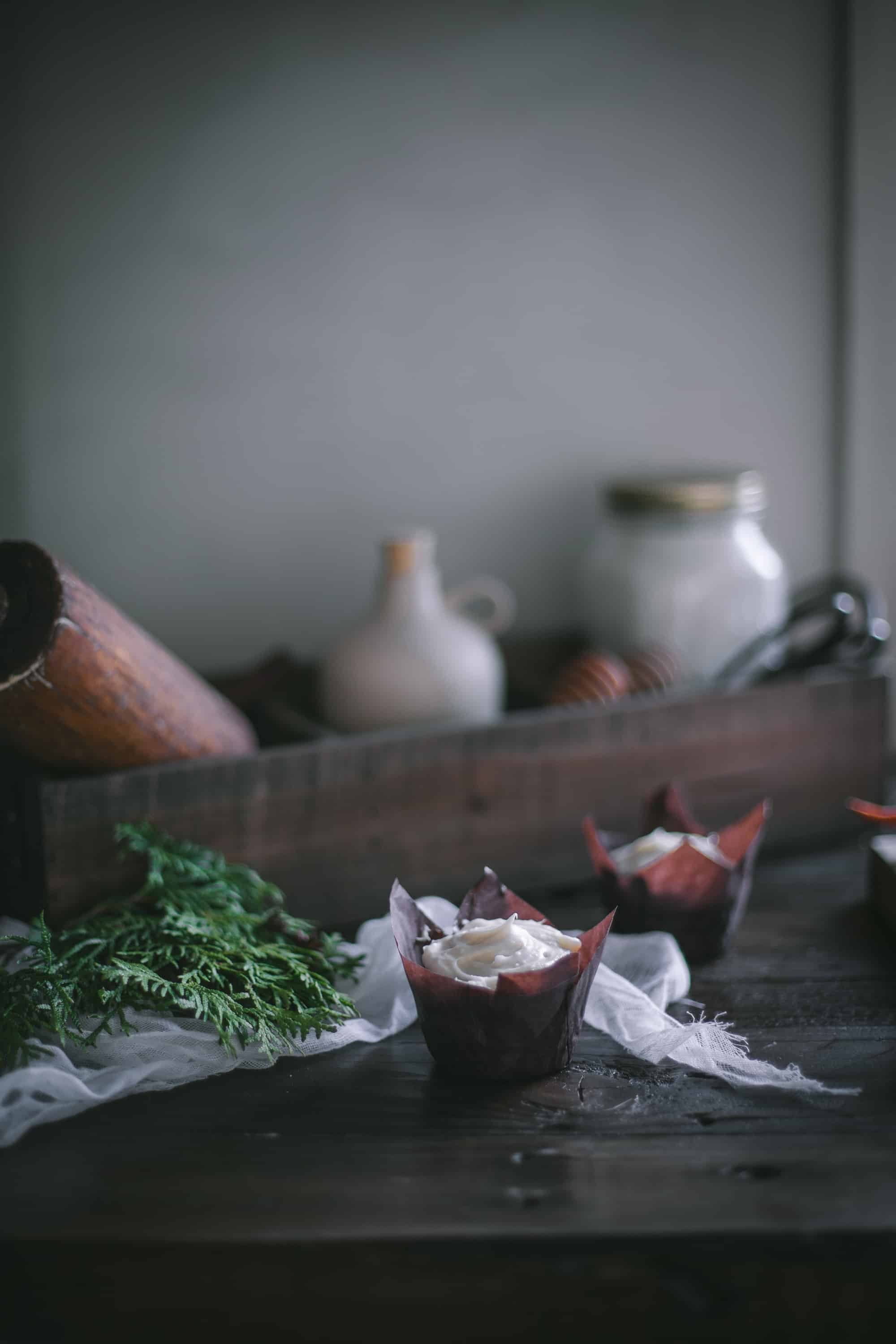 Carrot Cake Citrus Cupcakes With Cream Cheese Frosting by Eva Kosmas Flores
