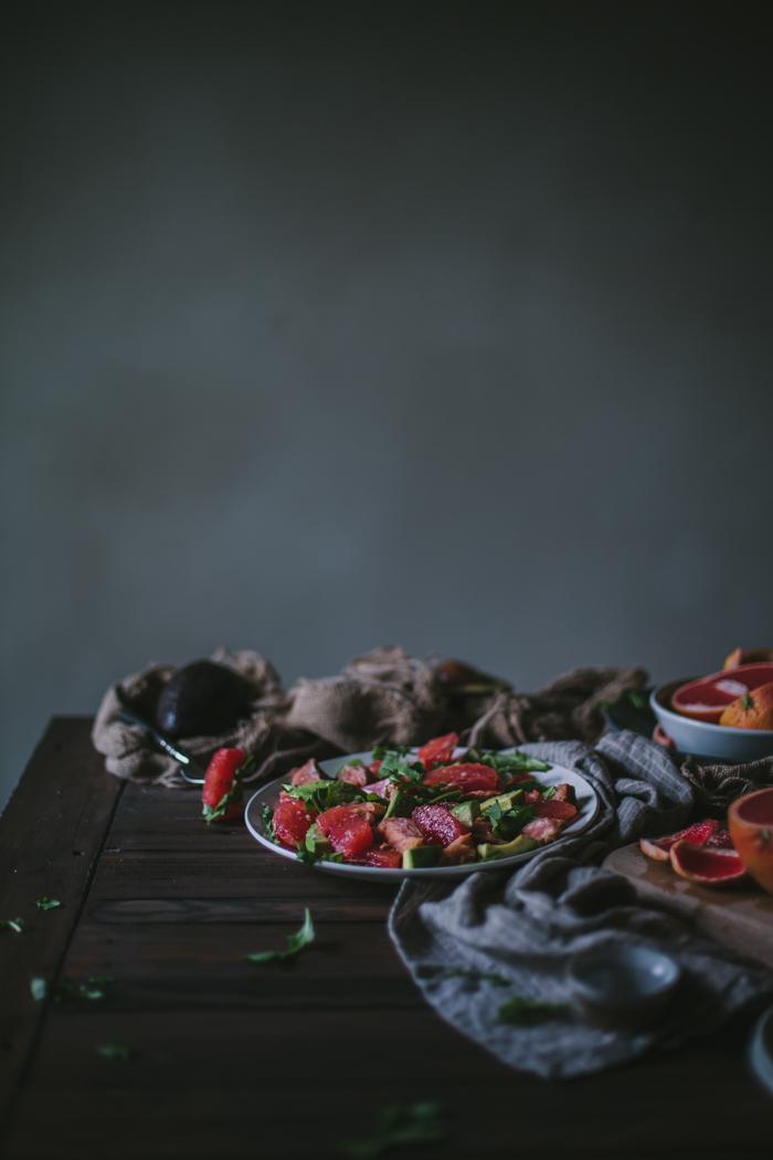 Grapefruit, Salmon & Avocado Salad + A Giveaway