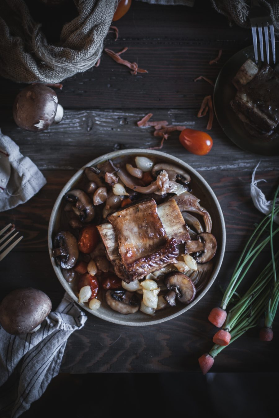 Braised Short Ribs with Fennel