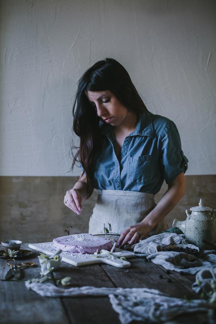 Lavender Black Currant & Vanilla Bean Rose Homemade Marshmallows by Eva Kosmas Flores | Adventures in Cooking