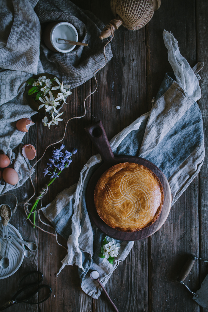Gateau Basque by Eva Kosmas Flores | Adventures in Cooking