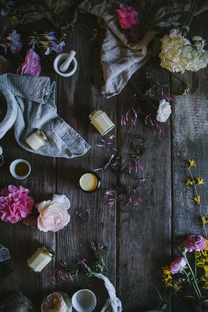 Homemade Face Cream + A Mountain Rose Herbs Giveaway by Eva Kosmas Flores | Adventures in Cooking