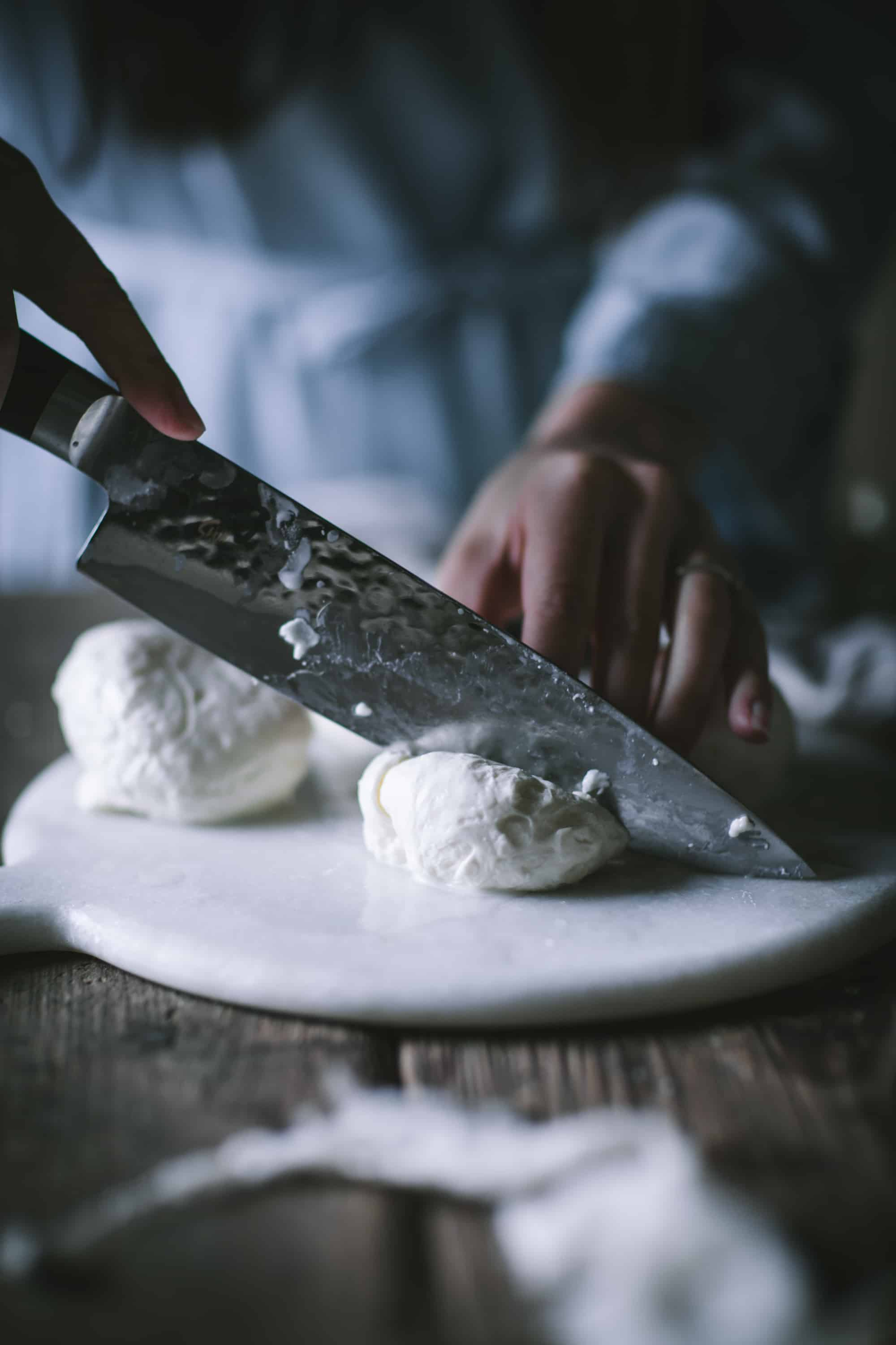 How to Make Homemade Burrata Cheese