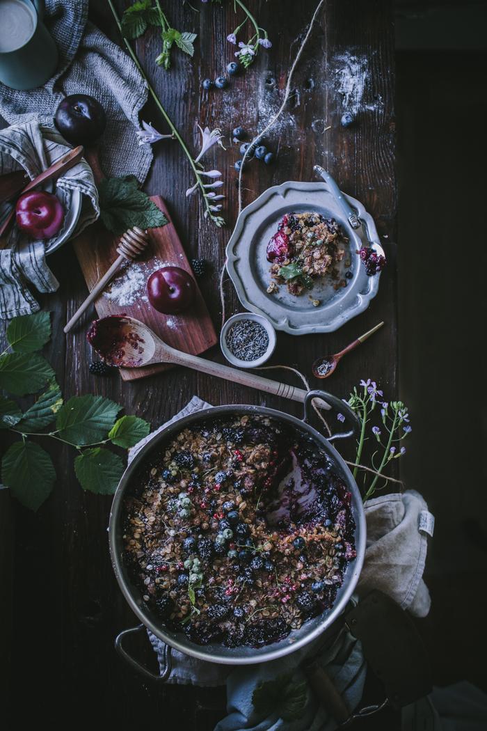 Plum & Summer Berry Lavender Crisp + A Falk Copper Giveaway