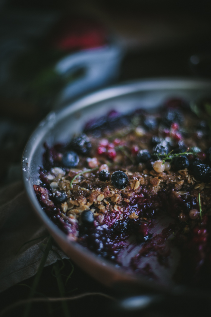 Plum & Summer Berry Lavender Crisp + A Copper Giveaway by Eva Kosmas Flores
