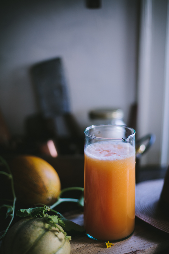 Melon Agua Fresca by Eva Kosmas Flores | Adventures in Cooking